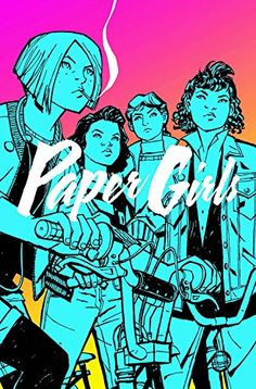 Paper Girls Volume 1 by Brian K. Vaughan http://www.amazon.com/dp/1632156741/ref=cm_sw_r_pi_dp_ksP0wb13FY96W