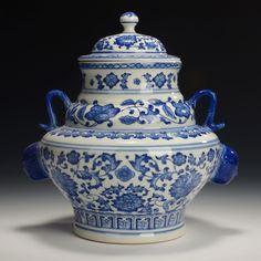 Alibaba グループ | AliExpress.comの 花瓶 からの 項目細目&n 中の 古風中国手作り青と白の磁器ポット乾隆マーク 008