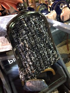 Chanel Tweed Industrial Chic | Purse  | Custom Made Purse | Purse Frame | Sew Easy™ | Pins&Needles Haberdashery Emporium