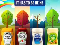 Spring forward, fall back, Heinz forever! #ItHasToBeHeinz