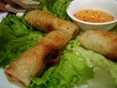 If you think chinese spring rolls are good, wait till you try the vietnamese ones