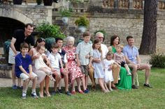 Danish Royal Family | Prince Henrik celebrated his 80th birthday at the Château de Cayx, France, June 11, 2014-Prince Joachim, Prince Felix, Princess Marie, Princess Athena, Prince Henrik, Prince Nikolai, Queen Margrethe, Prince Christian, Princess Isabella, Prince Henrik, Princess Josephine, Crown Princess Mary, Prince Vincent, Crown Prince Frederik