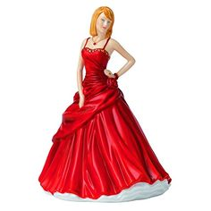 Royal Doulton Charms Heart Figurine. #RoyalDoulton #Christmas #Tree #Decor #Figurines #Gift #Giftideas #gosstudio .★ We recommend Gift Shop: http://www.zazzle.com/vintagestylestudio ★