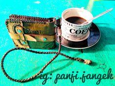 Dompet kulit hand made by : panji.jangek