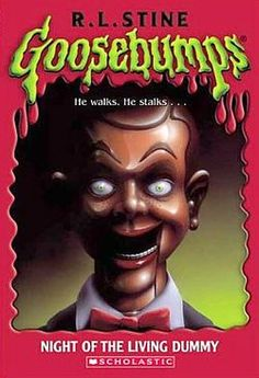 I used to ♥ me some Goosebumps books!