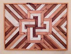 Wood Wall Art, Wooden Wall Art, Geometric Wall Art, Wall Art, Rustic Wall Art, Reclaimed Wood Art, Modern Wall Art, Wood Art Sculpture