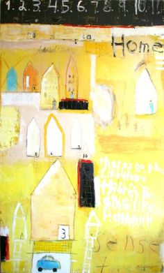 No Place Like Home - Mary Srimgeour University Of Colorado, Hearth And Home, Art Studies, Park City, Landscape Art, Artsy Fartsy, Abstract Art, Mary, Fine Art