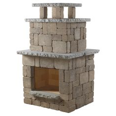 Necessories Compact Outdoor Fireplace Santa Fe