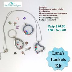 5e75e85a4 We now offer over 100 locket charms. Join our company and get your locket  kit