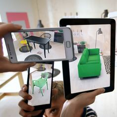 Ikea's 2014 catalogue works with the retailer's app, allowing customers to virtually see what products will look like in their homes.