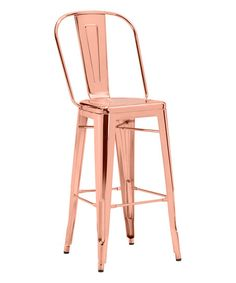 rose gold bar stools on sale