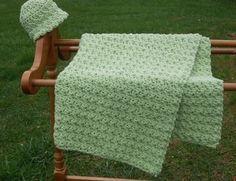 couverture de bébé au crochet facile