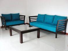 Wooden Living Room Furniture, Home Decor Furniture, Sofa Furniture, Living Room Sofa, Furniture Design, Furniture Stores, Sofa Set Price, Wooden Sofa Set Designs, Sofa Set Online