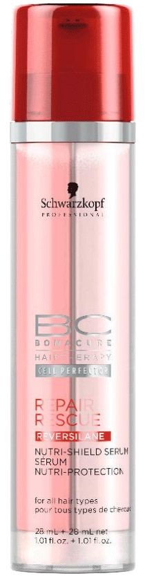 BC Bonacure REPAIR RESCUE Nutri-Shield Serum, An intensive double serum for hair lengths and ends that evens and protects the hair surface while preventing from external damage factors during and after styling. Fine Curly Hair, Schwarzkopf Professional, Styling Tools, Synthetic Wigs, Hair Type, Cool Hairstyles, Natural Hair Styles, Good Things, Ebay