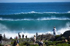 Indian Ocean mega swell hits Western Australia - Stacked lines at North Point by Jamie Scott (@jamiescottimages) | Swellnet