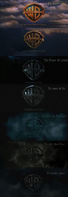 Harry Potter progression of scary.