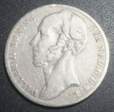 Rare Silver Coin 1848 Netherlands Gulden, Excellent Condition, Very Fine Details Visible  http://www.amazon.com/gp/product/B00JVI4DQO/?tag=p1nt-20