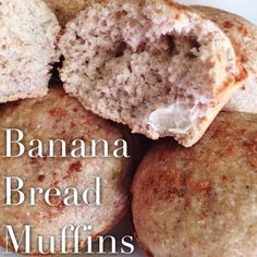 Do you like peanut butter, honey and banana? Of course you do. Make these. Easy and so fluffy. Mix: 1 large mashed banana, the more ripe the better 1Tbs coconut oil 2Tbs @nutsnmore peanut butter 1 egg 1 egg white 1/4c honey In separate bow mix: 1c oat flour 1/2c brown rice flour 1 scoop cinnamon swirl protein from @Cellucor Dash of salt 1/2tsp BS & BP Mix together. Add 1/4c warm milk. Make 9 muffins. Bake at 325 for 20