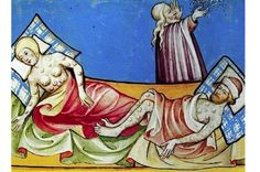 Where the Black Death Happened in England.