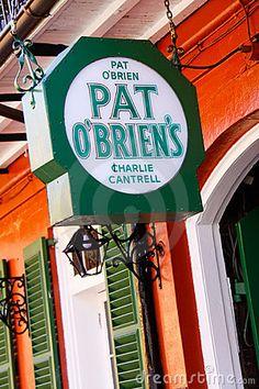 New Orleans Pat OBriens Bar Charlie Cantrell by Lawrence Weslowski Jr, via Dreamstime