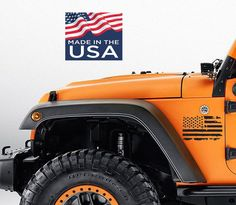 Jeep Wrangler Hood Wrap Off Road Graphic Sticker Flag Decal 2007-2018 SUBDUED LN