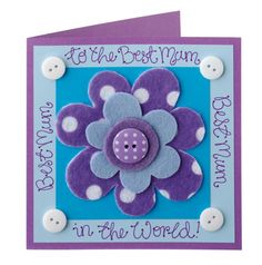Mother's day card ~ how to