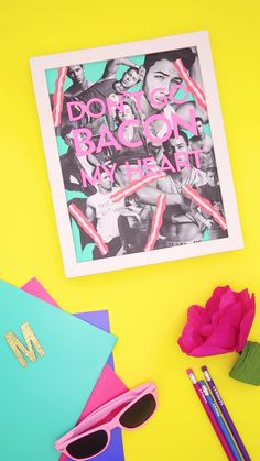 Learn how to make wall art for your dorm room with this easy video DIY tutorial.