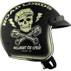 retro motorcycle helmet vintage - Google Search
