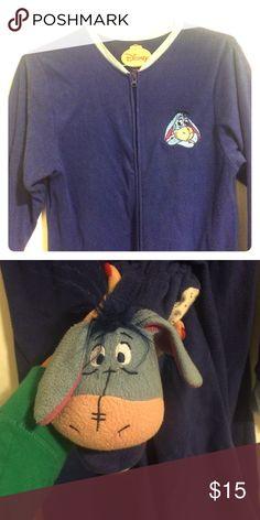 Eeyore Onesie Dark blue Eeyore onesie pajamas Disney Intimates & Sleepwear Pajamas