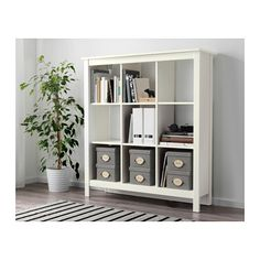 """TOMNÄS Shelf unit - white - IKEAProduct dimensions Width: 45 5/8 """" Depth: 13 3/4 """" Height: 50 """""""