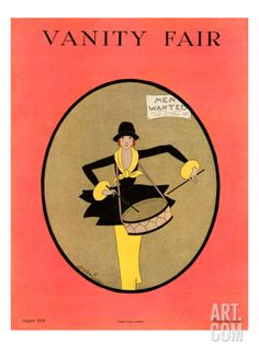 Vanity Fair Cover - August 1918 Regular Giclee Print by Gordon Conway at Art.com