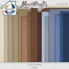 Digital Art :: Paper Packs :: Our House - solids