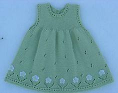 "Vestido para niña, tejido con dos agujas, calado, con aplicaciones de flores tejidas a crochet, en el ruedo. [ ""Vestido para niña, tejido con dos aguлетние платьяjas, calado, con aplicaciones de flores tejidas a crochet, en el ruedo."", "" Lovely dress with a cardigan to match."" ] # # #Lovely #Dresses, # #Summer #Dresses, # #Cardigans, # #Tissue, # #Of #Agujas"