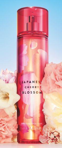 Try a spritz of America's #1 Fragrance, #JapaneseCherryBlossom!
