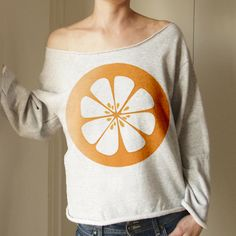 SWEATSHIRT Orange von ONE MUG A DAY auf DaWanda.com