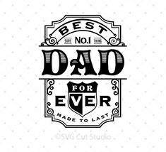 742b65a7 Fathers Day SVG PNG DXF EPS files for Cricut Silhouette · Vector Can, Cut  Canvas, Graphic Design Software, Monogram Frame, Dad To Be. SVG Cut Studio