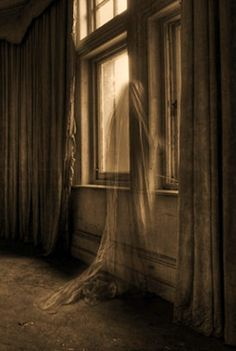 """Like an ghost she haunts the halls. Fading in and out of what is and what one was."""