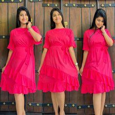 Day Dresses, Summer Dresses, Cute Casual Dresses, No Frills, Pink Dress, Fashion, Pink Sundress, Moda, Summer Sundresses