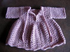 Knotty Generation: Crochet Baby Winter Dress