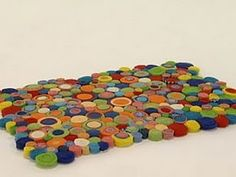 alfombra hecha con tipos de telas