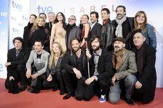 Estreno del último episodio de Isabel Cine Capitol, Madrid, 3-12-12