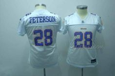 http://www.yjersey.com/vikings-28-peterson-white-women-new-jerseys.html VIKINGS 28 PETERSON WHITE WOMEN NEW JERSEYS Only 34.00€ , Free Shipping!