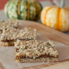 Gluten Free Pumpkin Pie Oatmeal Bars
