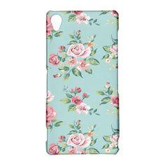 Beautiful Flowers Sony Xperia Z3 Case Hardshell