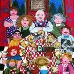 """We Put The Fun In Dysfunctional"" by reniebritenbucher Framed Wall Art, Wall Art Prints, Family Canvas, Art Terms, Custom Canvas, Photo Canvas, Medium Art, Family Activities, Kite"