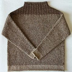 Discover more about Origami Paper Folding Sweater Knitting Patterns, Knitting Designs, Knit Patterns, Free Knitting, Knitting Projects, Ravelry, Moss Stitch, How To Purl Knit, Sweater Design