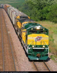 RailPictures.Net Photo: UP 1995 Union Pacific EMD SD70ACe at Luzerne, Iowa by Richard Scott Marsh