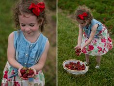 Strawberry Patch | Lindsay Galloway Photography