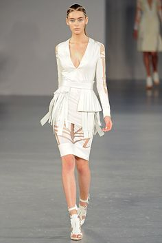 David Koma Spring 2012 Ready-to-Wear Fashion Show Collection