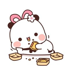 Cute Love Gif, Cute Love Pictures, Cute Images, Cute Couple Cartoon, Cute Love Cartoons, Panda Wallpapers, Cute Cartoon Wallpapers, Cartoon Stickers, Cute Stickers